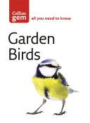 Garden Birds  Collins Gem