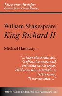 William Shakespeare: 'Richard II'