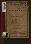 The Medical Men of New Jersey, in Essex District, from 1666 to 1866