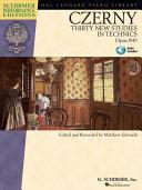 Carl Czerny - Thirty New Studies in Technics, Op. 849 (Songbook)