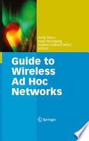 Guide to Wireless Ad Hoc Networks Book
