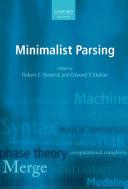 Minimalist Parsing
