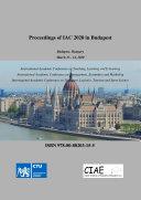 Proceedings of IAC 2020 in Budapest