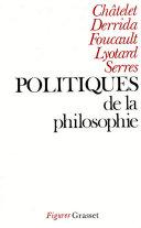 Politiques de la philosophie [Pdf/ePub] eBook