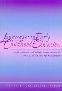 Landscapes in Early Childhood Education Book