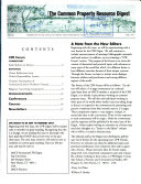 The Common Property Resource Digest Book