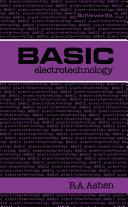 Basic Electrotechnology Pdf/ePub eBook