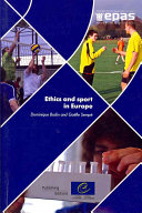 Pdf Ethics and Sport in Europe Telecharger