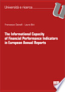 The Informational Capacity Of Financial Performance Indicators In European Annual Reports Book PDF