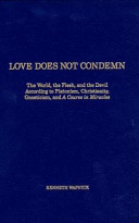 Love Does Not Condemn Book