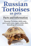 Russian Tortoises as Pets  Russian Tortoise