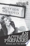 An Actress Prepares Book PDF