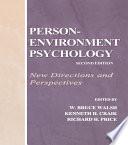 Person Environment Psychology