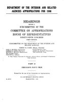 Department of the Interior and related agencies appropriations for 1986