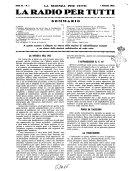 La radio per tutti rivista quindicinale di volgarizzazione radiotecnica, redatta e illustrata per esser compresa da tutti
