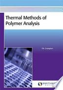 Thermal Methods Of Polymer Analysis Book PDF