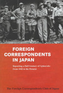 Foreign Correspondents in Japan