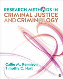 Cover of Research Methods in Criminal Justice and Criminology