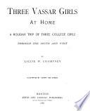 Three Vassar Girls at Home