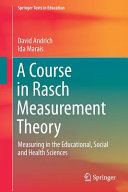 A Course in Rasch Measurement Theory Book Cover