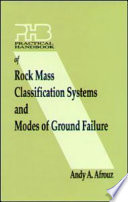 Practical Handbook of Rock Mass Classification Systems and Modes of Ground Failure Book
