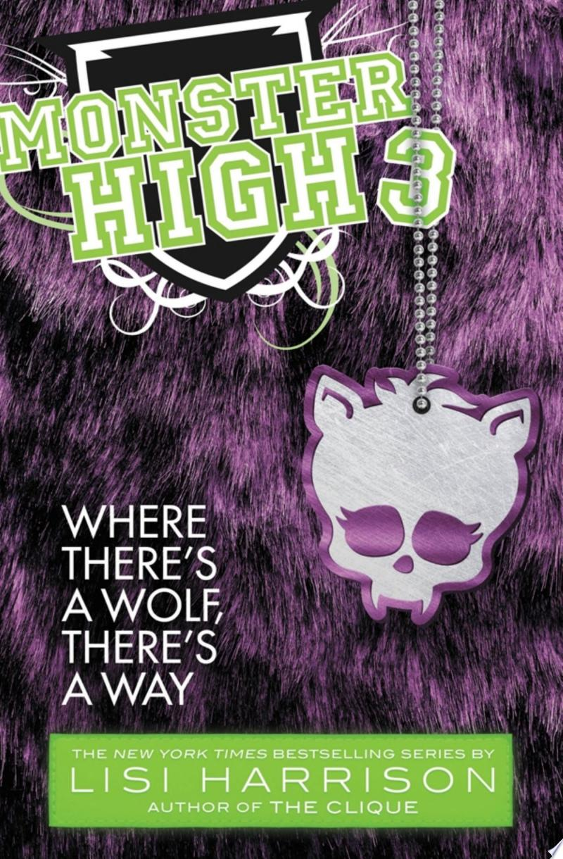 Monster High: Where There's a Wolf, There's a Way banner backdrop