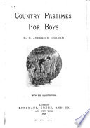 Country Pastimes for Boys