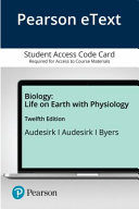 Pearson Etext Biology With Physiology Access Card Book