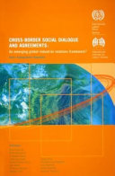 Cross border Social Dialogue and Agreements