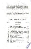 The Land We Love Book PDF