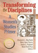 Transforming the Disciplines