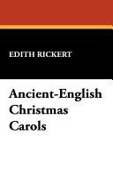 Ancient-English Christmas Carols