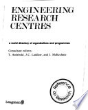 Engineering Research Centres