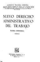 Nuevo Derecho Administrativo Del Trabajo Book