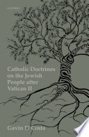 Catholic Doctrines on the Jewish People After Vatican II Book