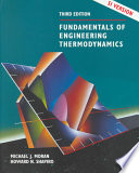 Fundamentals of Engineering Thermodynamics, SI Version