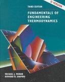 Fundamentals of Engineering Thermodynamics, SI Version