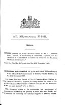 Pdf English Patents of Inventions, Specifications