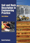 Soil and Rock Description in Engineering Practice  Second Edition
