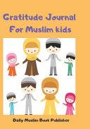 Daily Prayer Journal for Muslim Kids