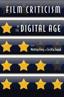 Film Criticism In The Digital Age Google Books