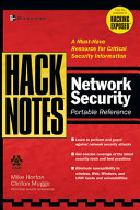 Hacknotes Network Security Portable Reference Book PDF