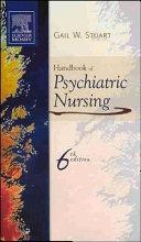 Handbook of Psychiatric Nursing Book
