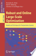 Robust and Online Large-Scale Optimization
