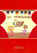 101 Monologues for Kids