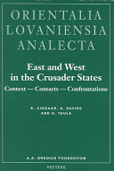 Pdf East and West in the Crusader States
