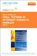 Textbook of Veterinary Diagnostic Radiology Book