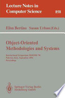 Object-Oriented Methodologies and Systems