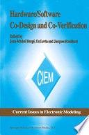 Hardware Software Co Design And Co Verification Book PDF