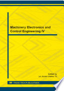 Machinery Electronics and Control Engineering IV